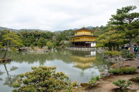 Chuà Vàng ngoại ô Kyoto