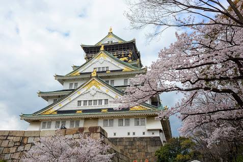 Lâu Đài xưa theo lối Nhật Bản - Samourai